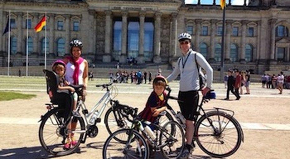 Семилетний мальчик проехал навелосипеде 370 км изШвеции вГерманию