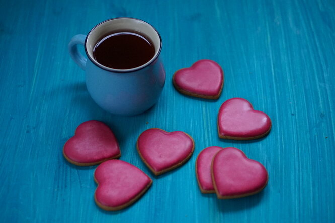 Имбирное печенье «Любовь»
