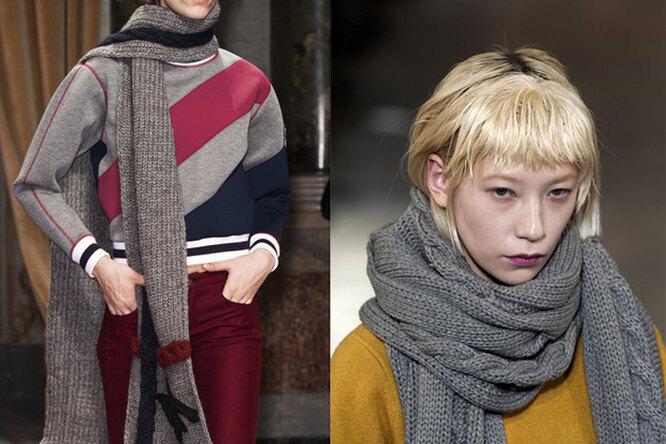 Секрет парижанки: 5 способов интересно завязывать шарф