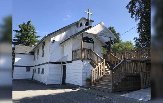 Церковь, приютившая Гордона
