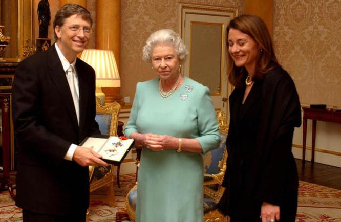 Билл и Мелинда Гейтс развод, королева Елизавета II