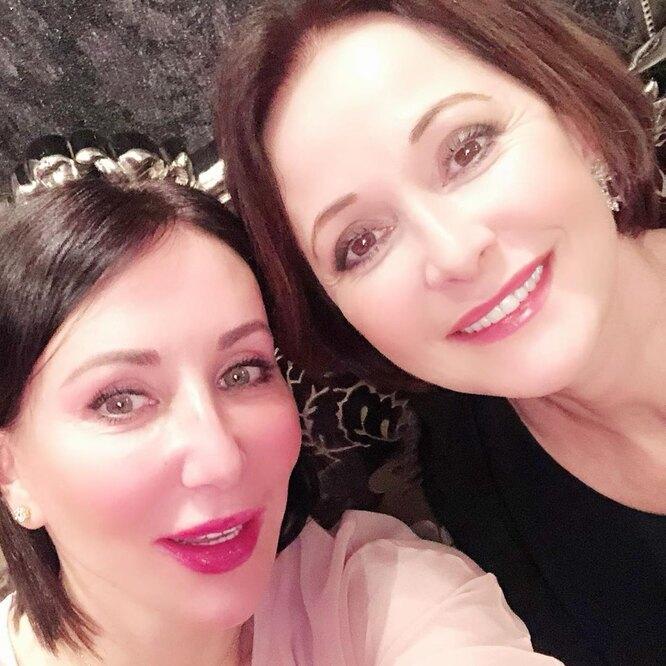 Ольга Кабо с подругой Аликой Смеховой фото