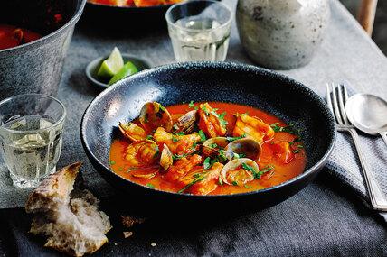 Рецепт португальского рыбного рагу с фото