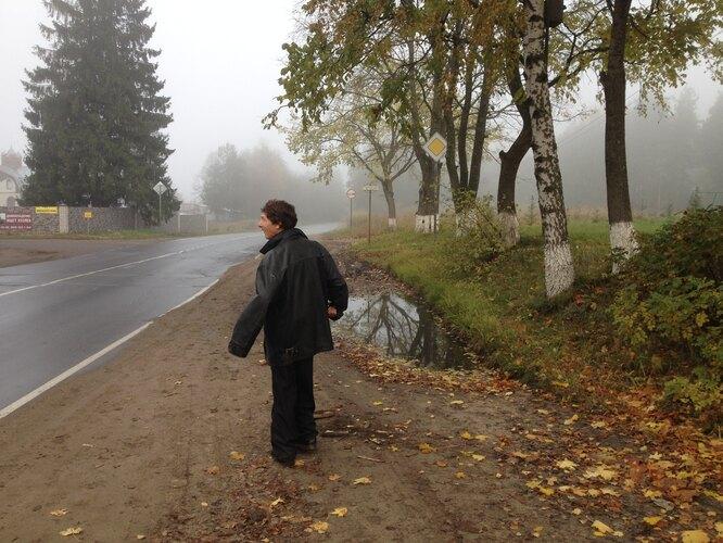 Владимир на прогулке