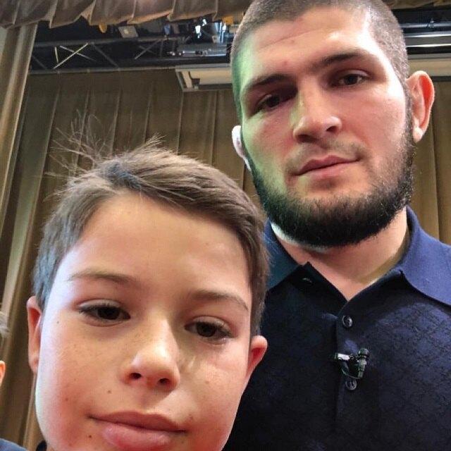Александр Шаханов и Хабиб Нурмагомедов