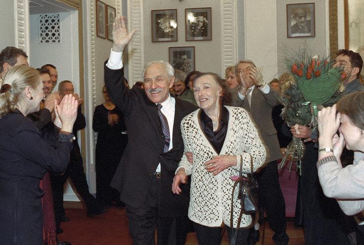 Михаил Ульянов, Алла Парфаньяк