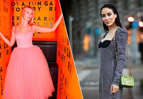 7 платьев с корсетом: соблазнительно и модно