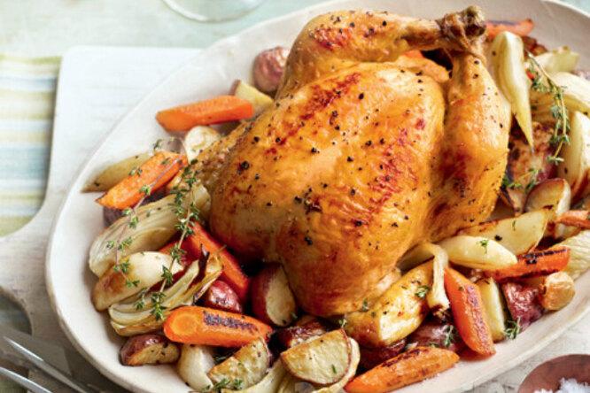 «Удачная курица» идругие новогодние горячие блюда