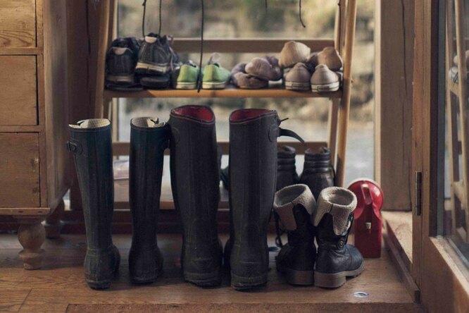 Как организовать хранение обуви — идеи иварианты