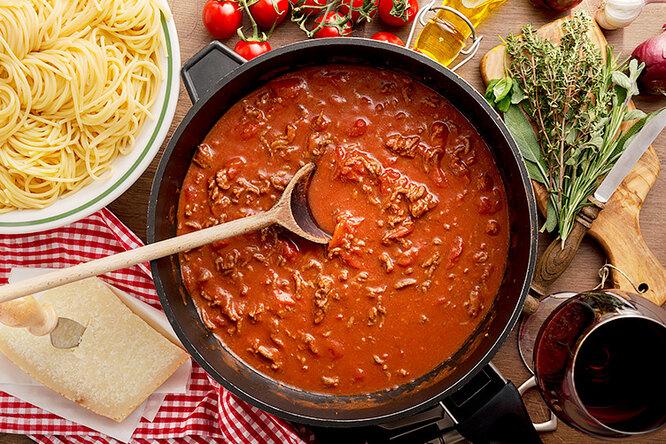 Ужин как вИталии: 10 секретов идеального соуса дляспагетти
