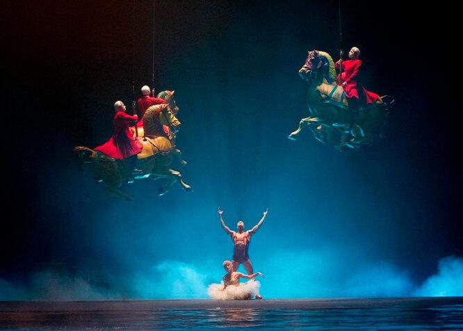 Цирк дю Солей: сказочный мир в 3D