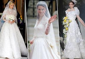 Ах, эта свадьба! Самые дорогие подвенечные наряды звезд