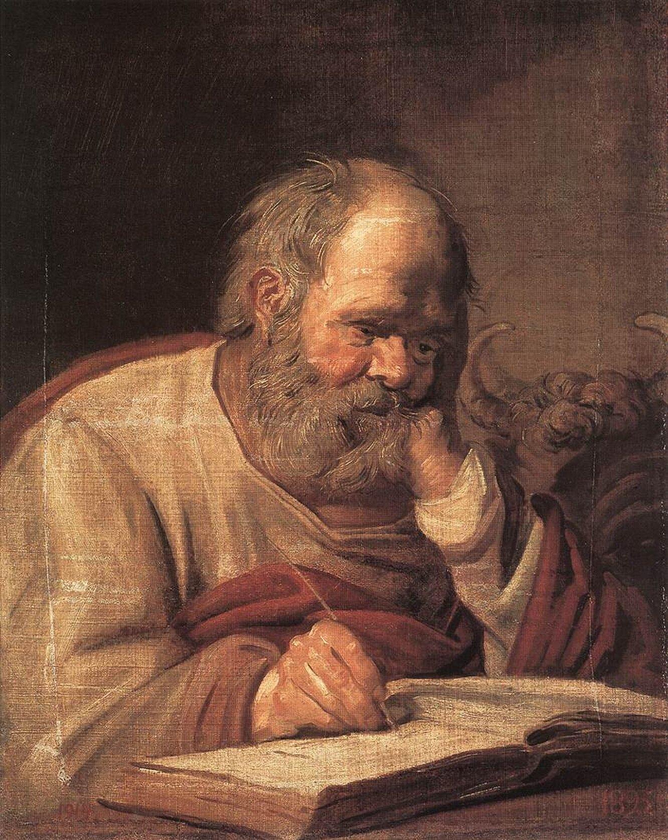 «Святой Лука», Франц Хальс