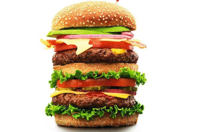 Самый настоящий гамбургер