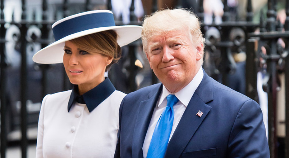 В стиле Леди Ди: образы Меланьи Трамп во время визита вАнглию