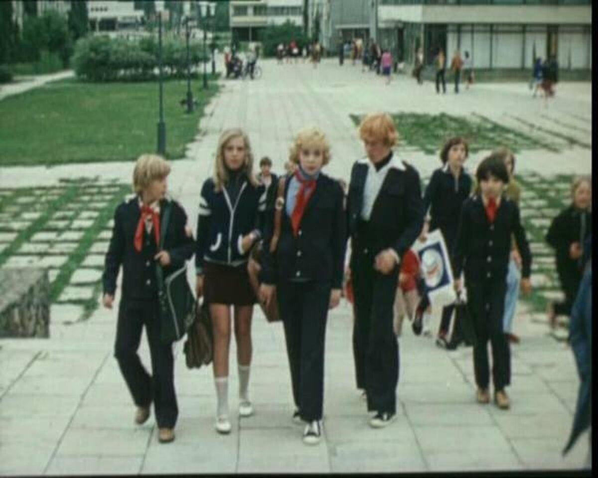 "Кадр из фильма ""Приключения Электроника"", 1979 год."