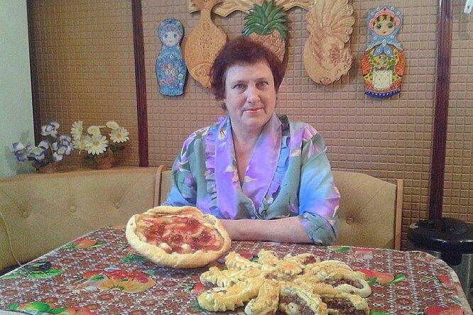 Пирог «Осьминог»