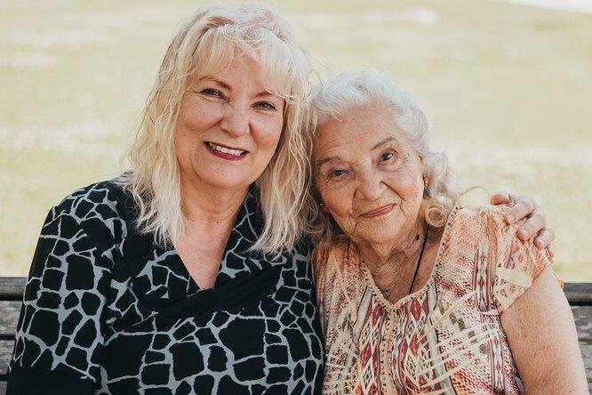 90-летняя мать отыскала свою дочь после 70-летней разлуки