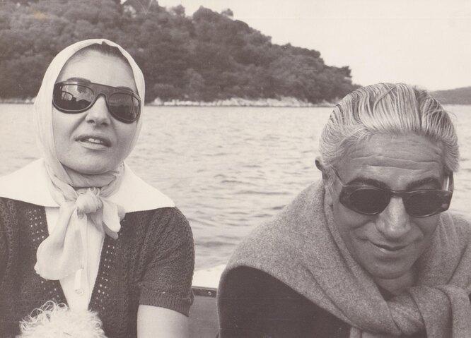 Аристотель Онассис и Мария Каллас