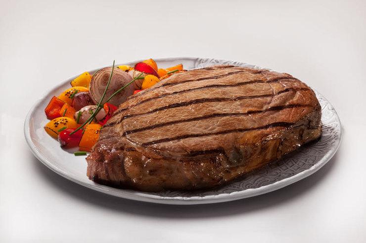 мясо сгарниром