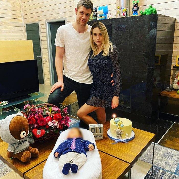 Марина иАндрей Зубковы ссыном Александром