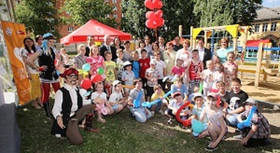 Фонд «Обнаженные сердца» открыл новую детскую площадку вТуле