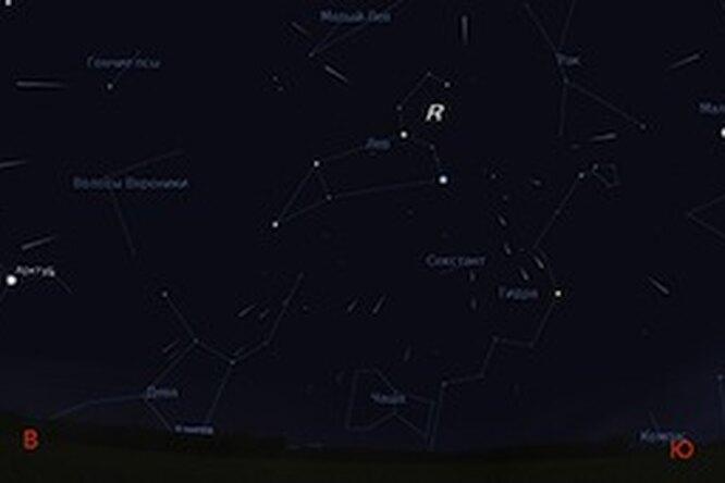 Красивые метеорные дожди вночь с17 на18 ноября