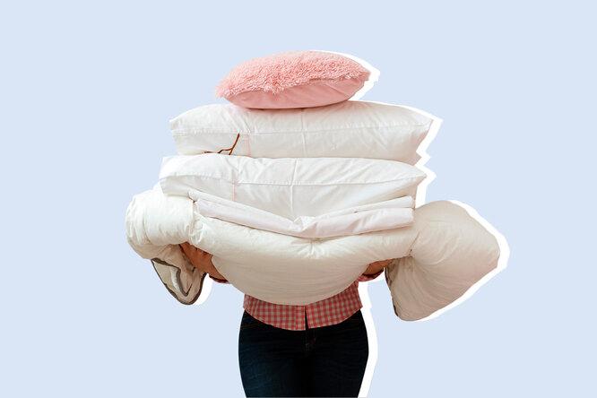 Почему ненужно гладить постельное белье?