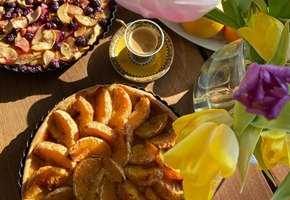 Рецепты звёзд: фруктовый пирог от Устиньи Малининой