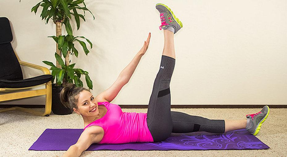 Делай так! 7 упражнений дляизящной талии