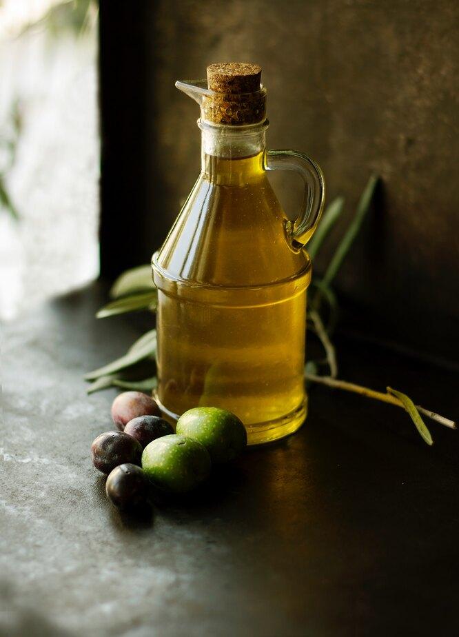 Оливковое масло, продукт с витамином E