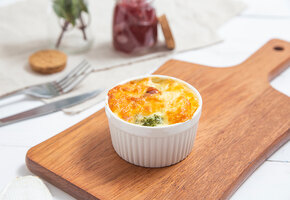Суфле из брокколи – рецепт от шеф-повара Марка Стаценко