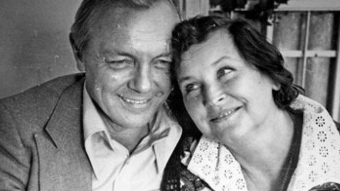 Кирилл Иванов и Валентина Николаева.