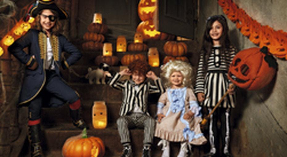 Детские костюмы дляХэллоуина вH&M