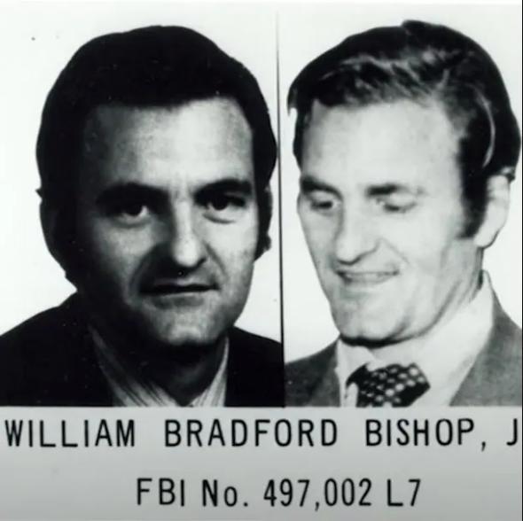 Ориентировка ФБР на Уильяма Бищопа-младшего