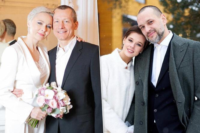 Катерина Шпица, Никита Джигурда, Памела Андерсон идругие молодожены-2021