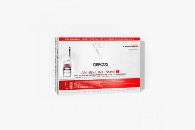 Cредство против выпадения волос для женщин Dercos Aminexil Intensive 5, Vichy