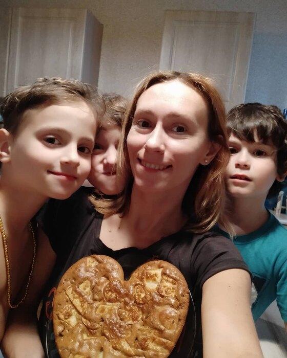 Мария Болтнева исыновья – Платон, Тимофей иАндрей