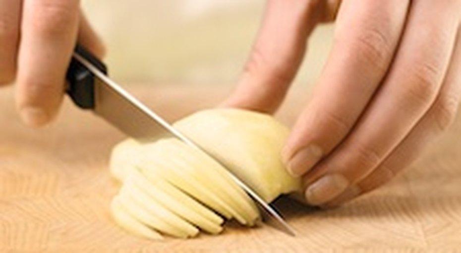 Как нарезать груши дляпирога
