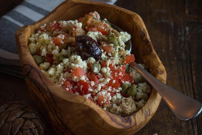 Дакос — греческий салат с острова Крит