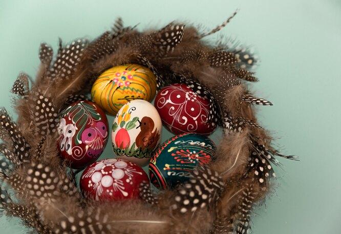 Вы красите яйца шелухой или красками?