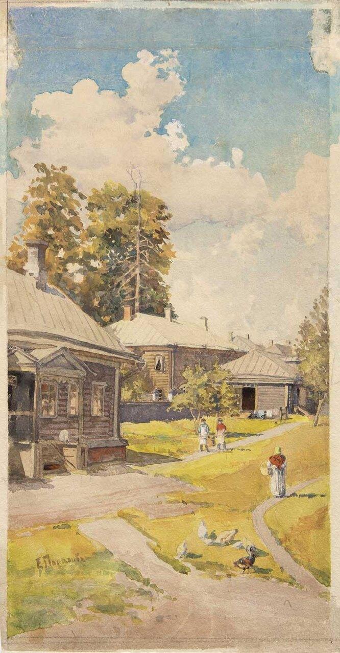 Пейзаж, 1880-е