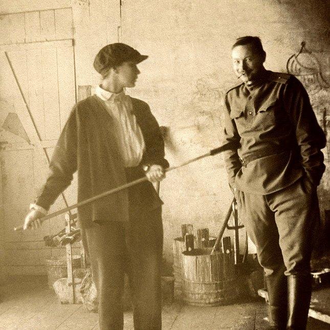 Наталья Гончарова и Михаил Ларионов. Москва, 1913 г.