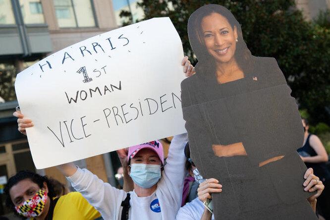 Жаль, мама неувидит: впервые вистории США женщина станет вице-президентом