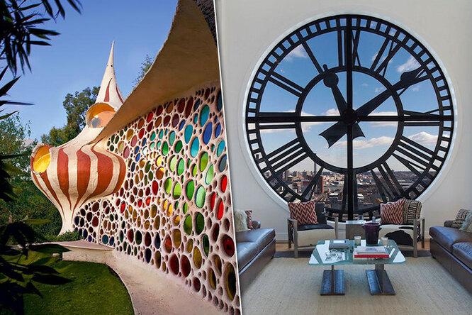 Крыша, стены ибурная фантазия: 5 самых невероятных домов вмире