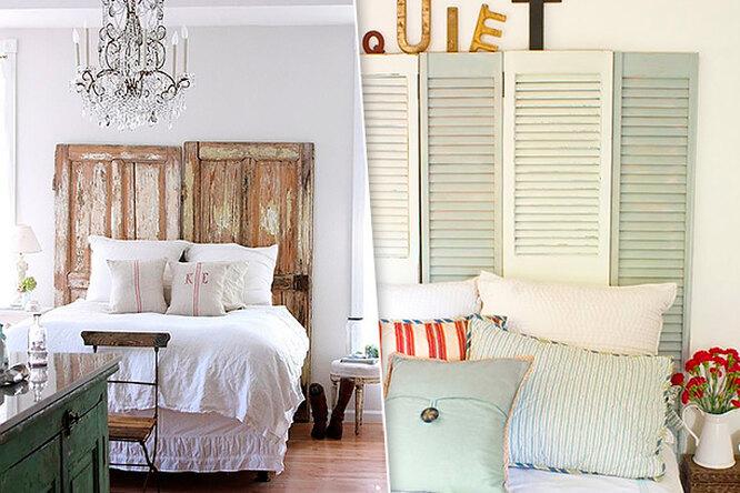 Деревянное изголовье кровати: 10 потрясающих идей длявдохновения