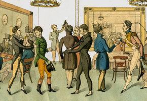 Тайные бары для геев XVIII века: удовольствие с привкусом смерти