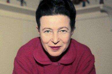 Мать феминизма Симона Бовуар итрое мужчин её гарема