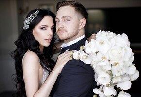 «Волшебная пара»: племянница Софии Ротару вышла замуж за хоккеиста и показала свадебные фото