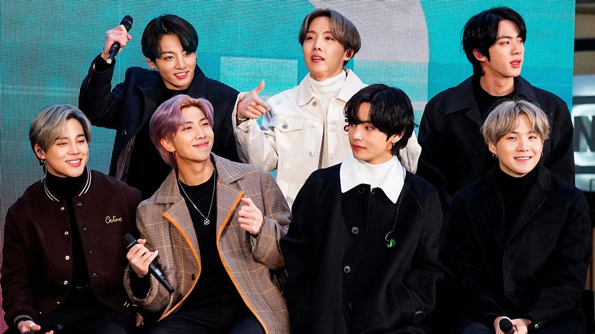 K-pop группа BTS